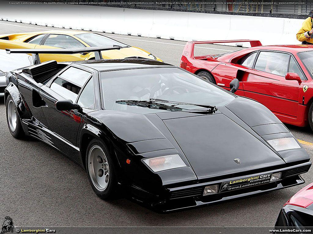 Lamborghini Countach An Amazing Black Lamborghini Countach