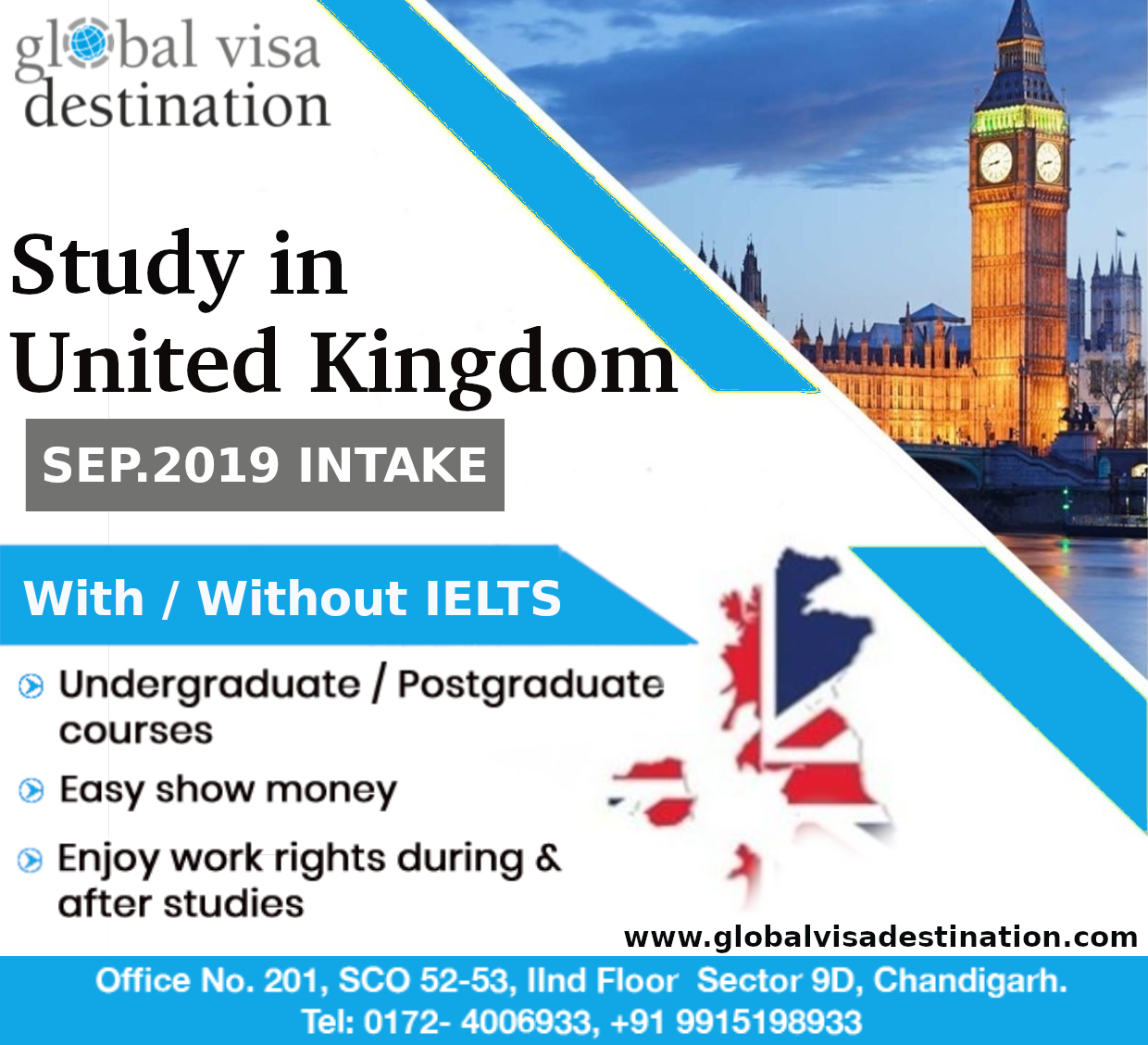 Golden Opportunity To Study In Uk With Or Without Ielts Admission