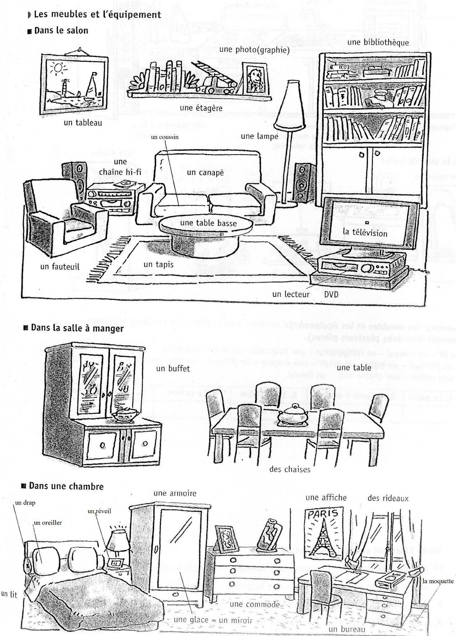 125 vocabulaire de la maison vocabulaire la maison for Anglais vocabulaire maison