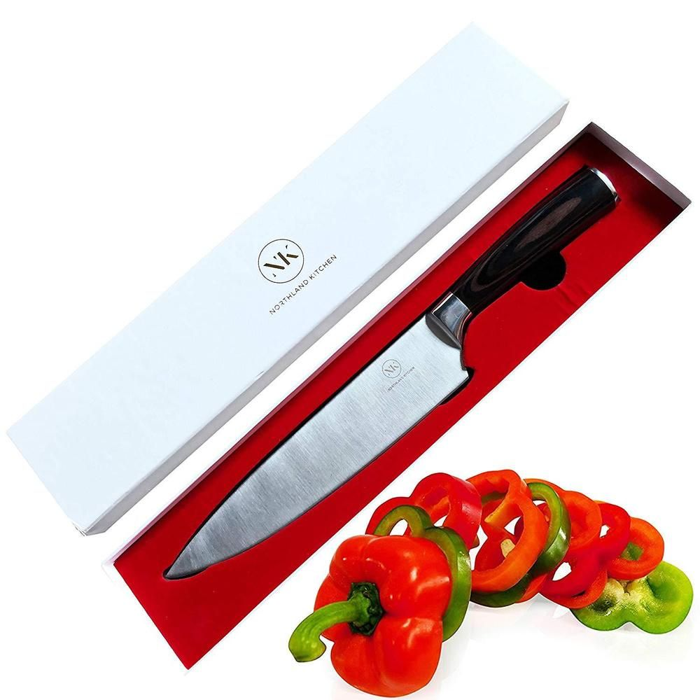 Northland Professional Chef Knife 8 Inch Stainless Steel Blade Comes W Gift Box Northlandkitchen Chef Knife Knife Set Kitchen Japanese Kitchen Knives