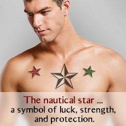 Mcm Worldwide Into The Glitch Nautical Star Tattoos Nautical Star Star Tattoos