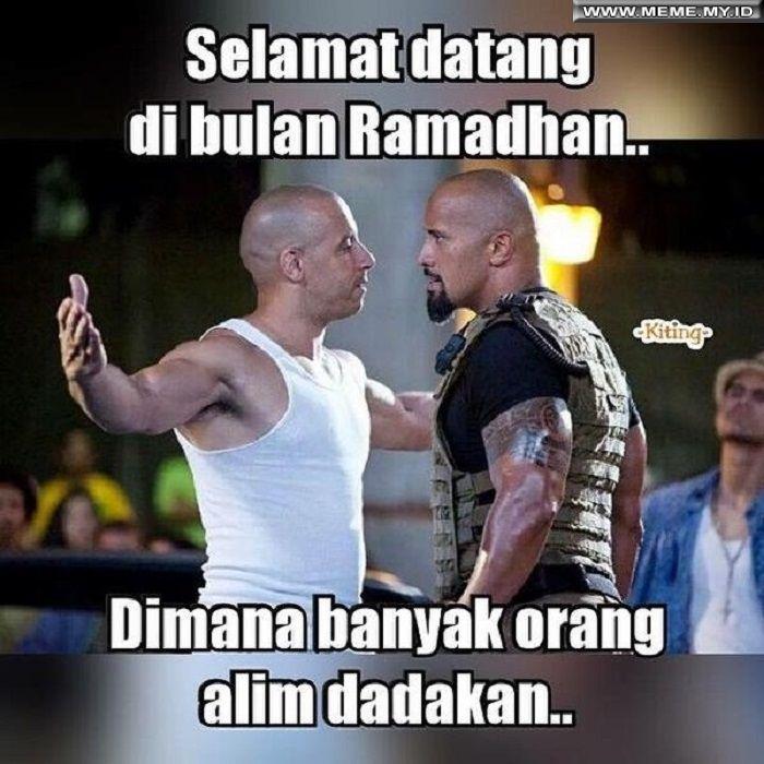 95 Gambar Lucu Di Bulan Ramadhan Paling Bagus