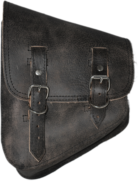 8f6d0b10f545 All Softail Models Left Side Solo Saddle Bag Rustic Black Leather. Find the  world s largest selection of custom harley davidson parts and accessories  at La ...