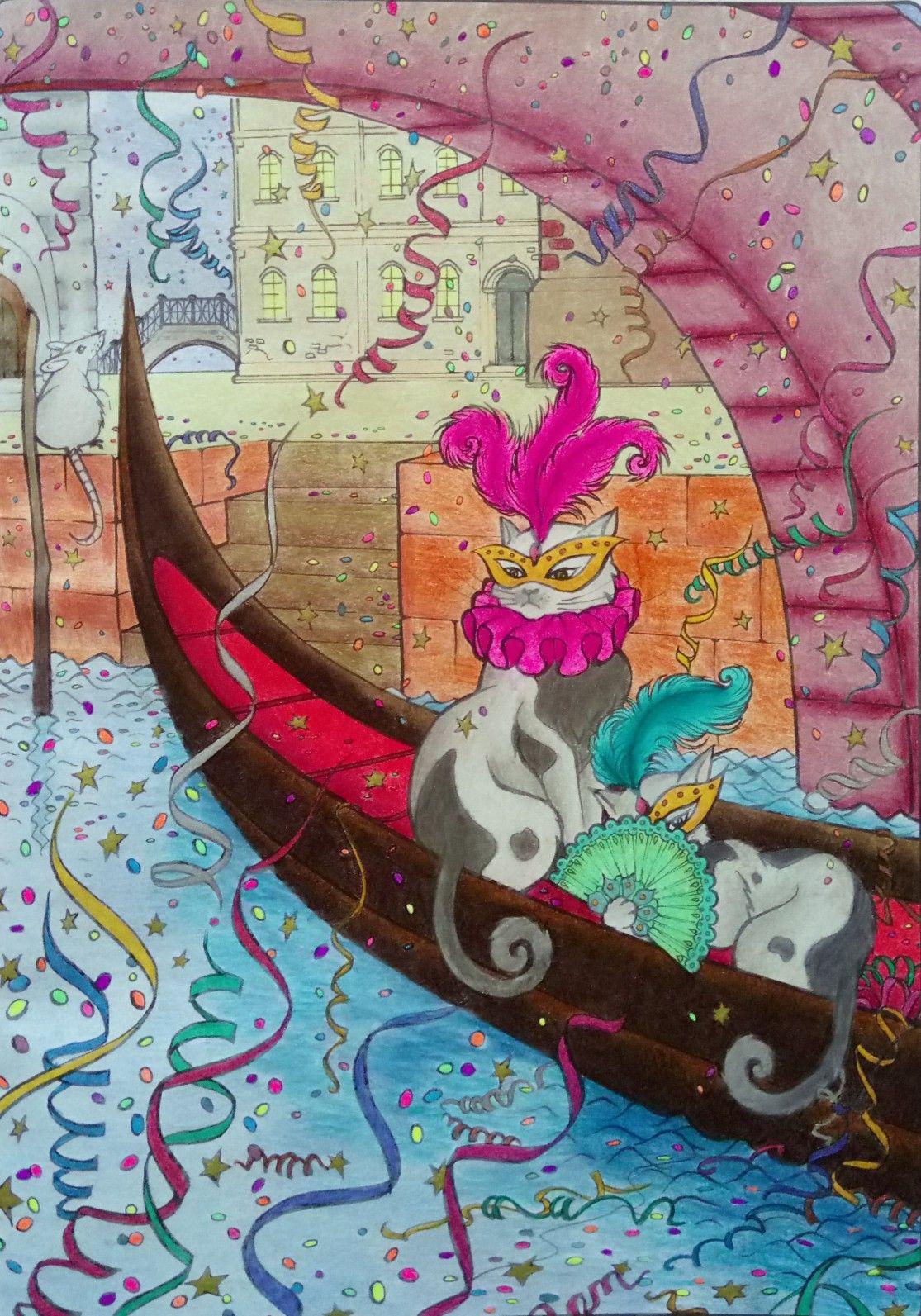 Koty Antystresowa Kolorowanka Z Aforyzmami Art Painting