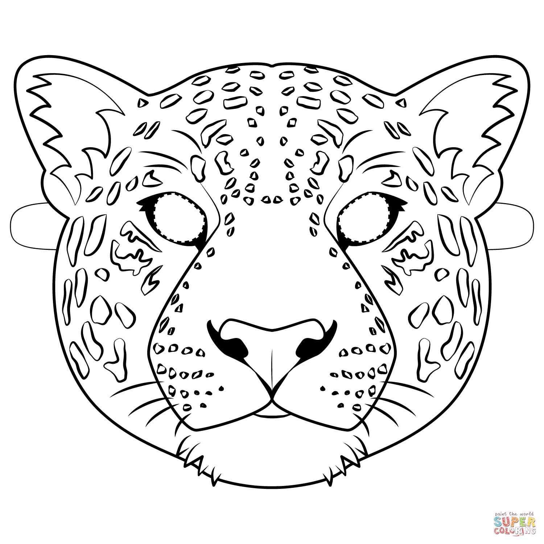 Free Coloring Page Jaguar Photos