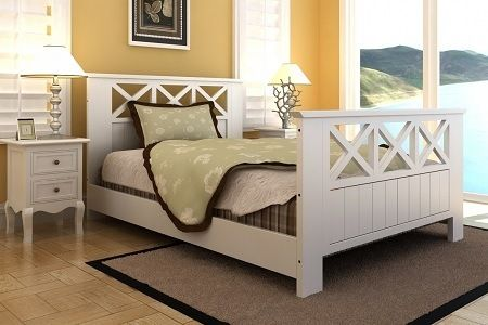 Groupon #home #shopping Struttura letto matrimoniale Country a 179 ...