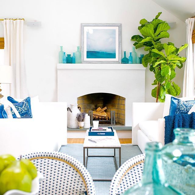 add a little tropical breeze to your home decor with a ocean themed