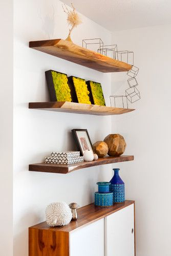 this is the type of finished shelving I would like