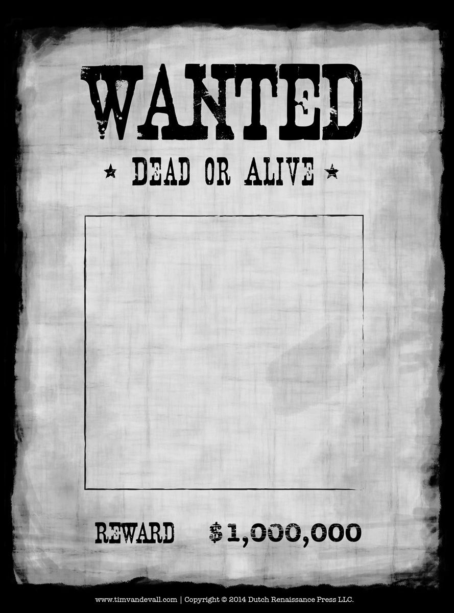 most wanted poster student