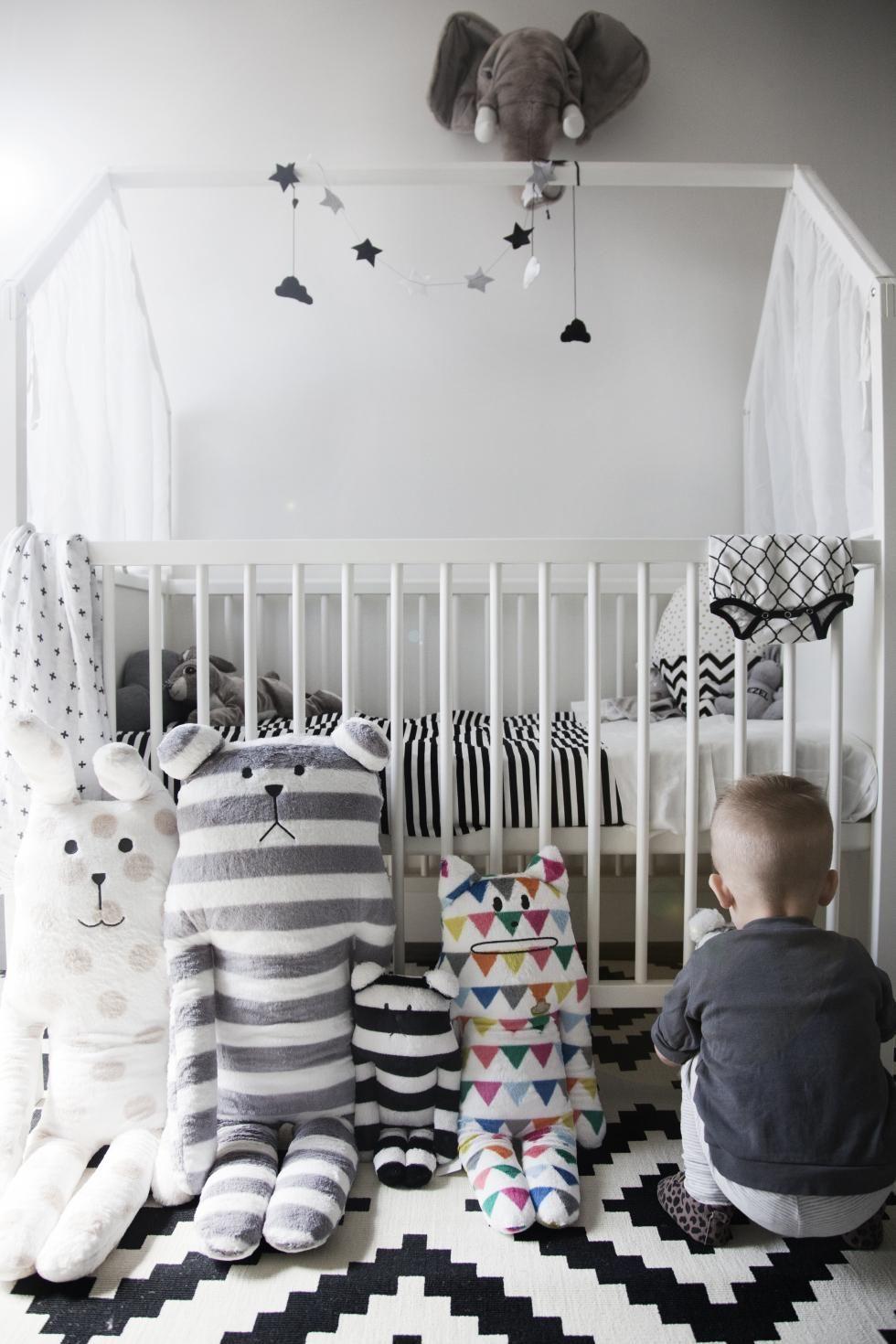 Crib for sale london ontario - Stunning Scandinavian Inspired Nursery Featured Stokke Home Crib In White