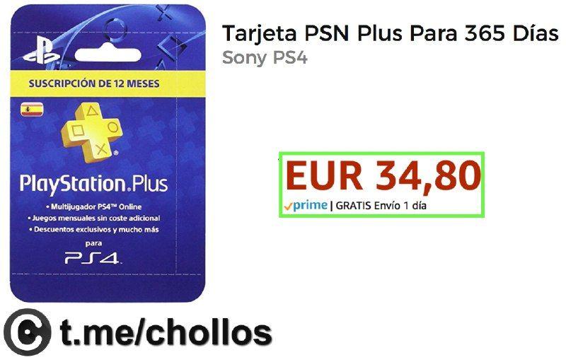 Acceso A Psn Plus 365 Días Sólo 3480 Http Ift Tt 2tehdvw Multijugador Ofertas España