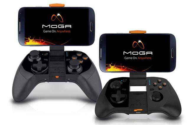 Moga Power Series, recarga tu smartphone Android o WP8 mientras juegas  http://www.xataka.com/p/107791