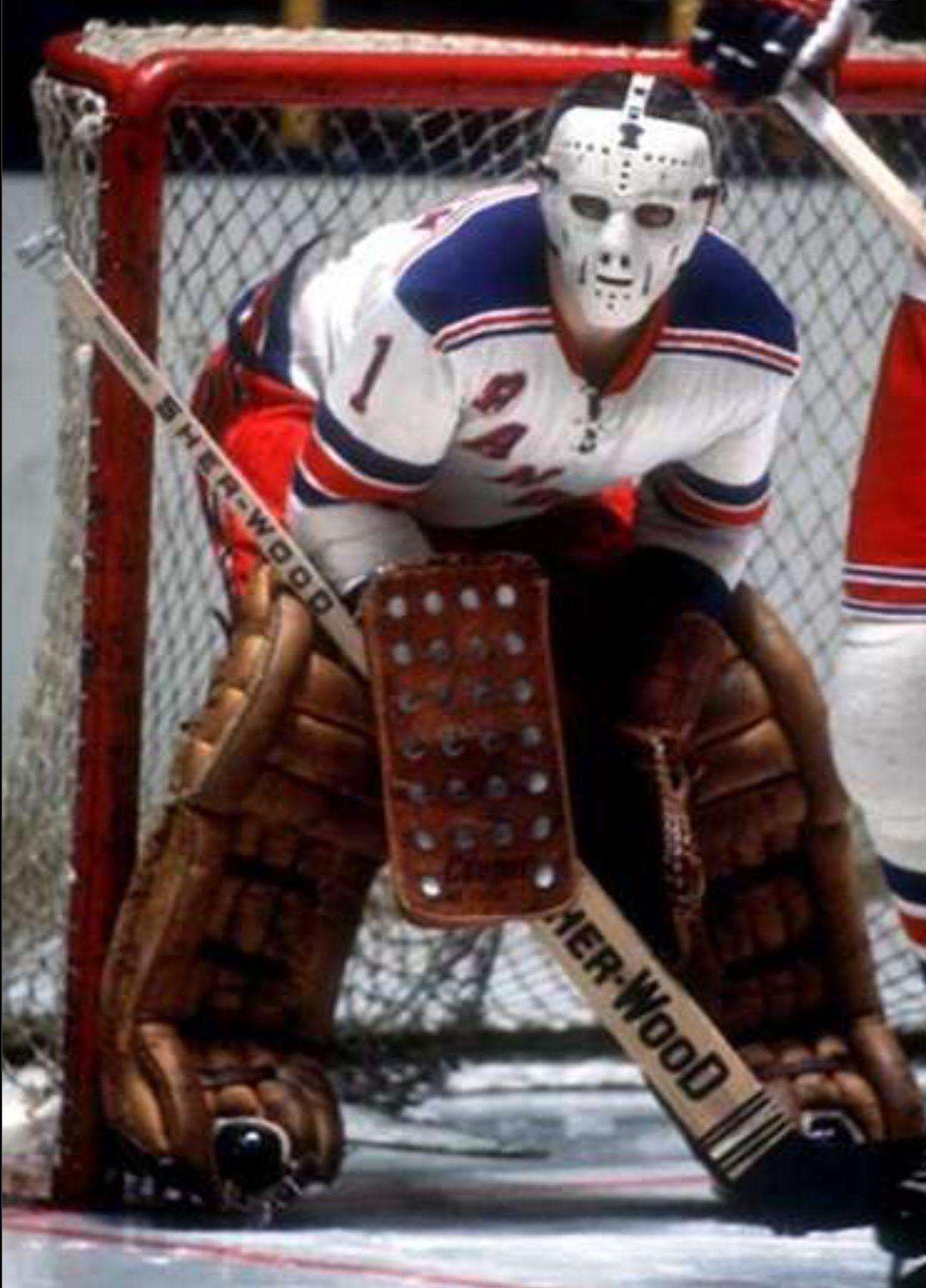 Ed (196576) Goalie mask, Rangers hockey, New