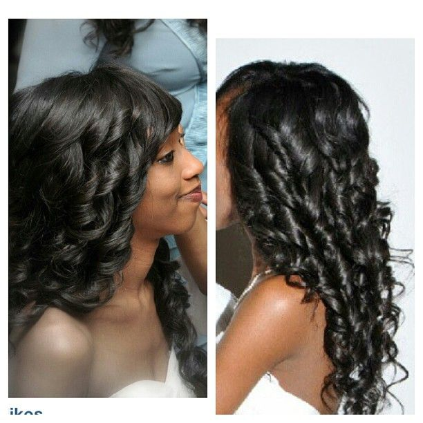 We offer Brazilian, Indian and our new addition of Malaysian and Peruvian Hair.
