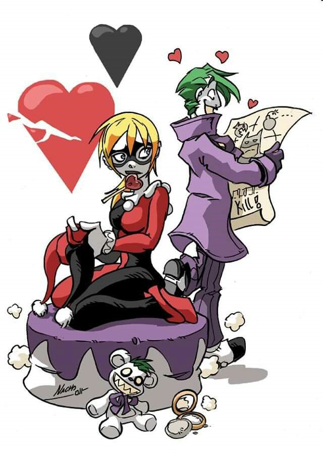 """Mr.J just isn't the same anyone because of that stupid   bat!""~Harley Quinn"