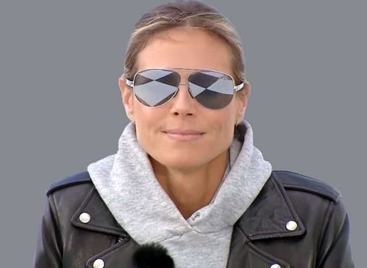 b506b85f68 ICBERLIN Heidi Klum. mirror glasses