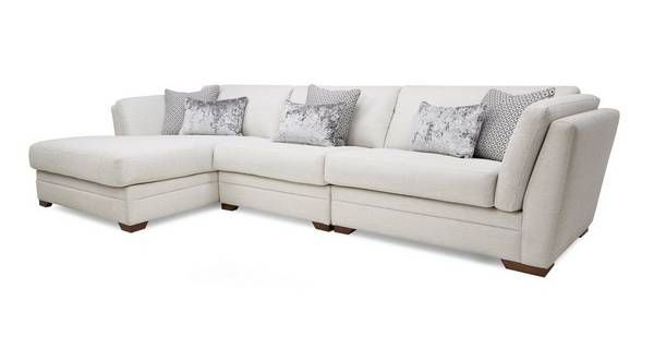 Awe Inspiring Long Beach Left Hand Facing Large Chaise Sofa Dfs Chaise Inzonedesignstudio Interior Chair Design Inzonedesignstudiocom
