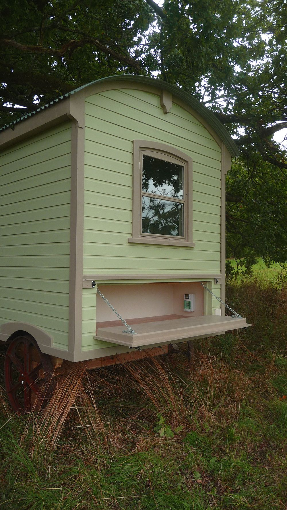 P1060680.jpg -- From Hawthorn Huts ... a shepherd\'s hut. | Gypsy ...