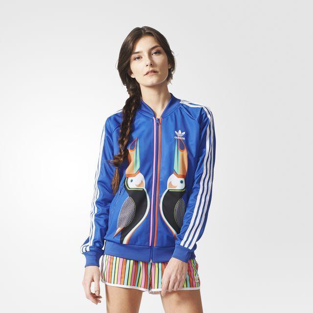 adidas - Women's Farm Tukana Supergirl Track Jacket