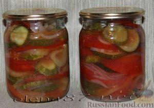 овощной салат на зиму рецепты с фото пошагово