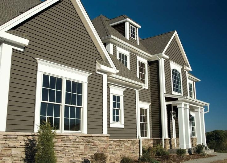 Image Result For Stacked Stone Veneer And Vinyl Siding Combination House Exteriors Pinterest