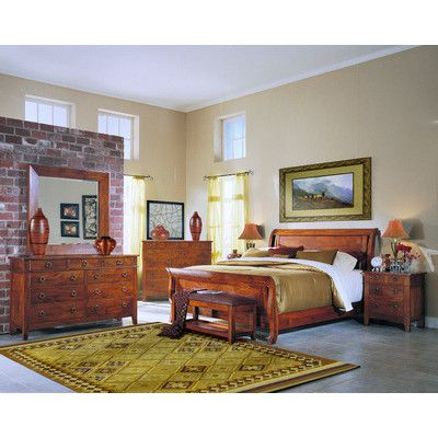 Klaussner Furniture Baxter Sleigh Bed Sleigh Bedroom Set Bedroom Sets Klaussner Furniture