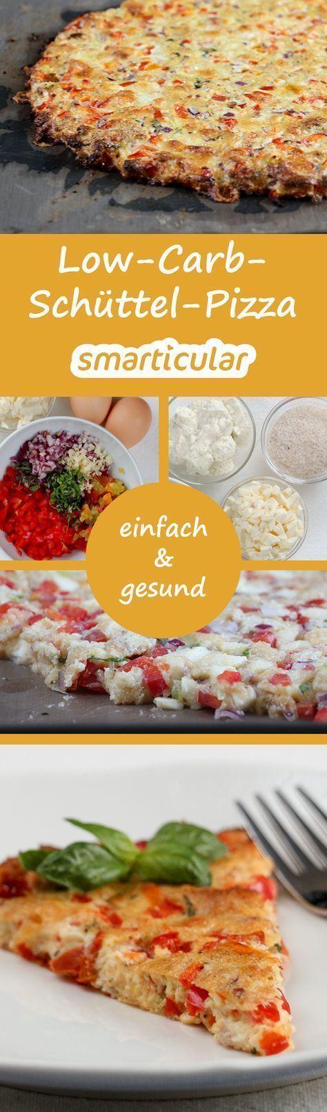 Schüttelpizza - so schnell hast du noch nie gesunde Pizza gemacht!
