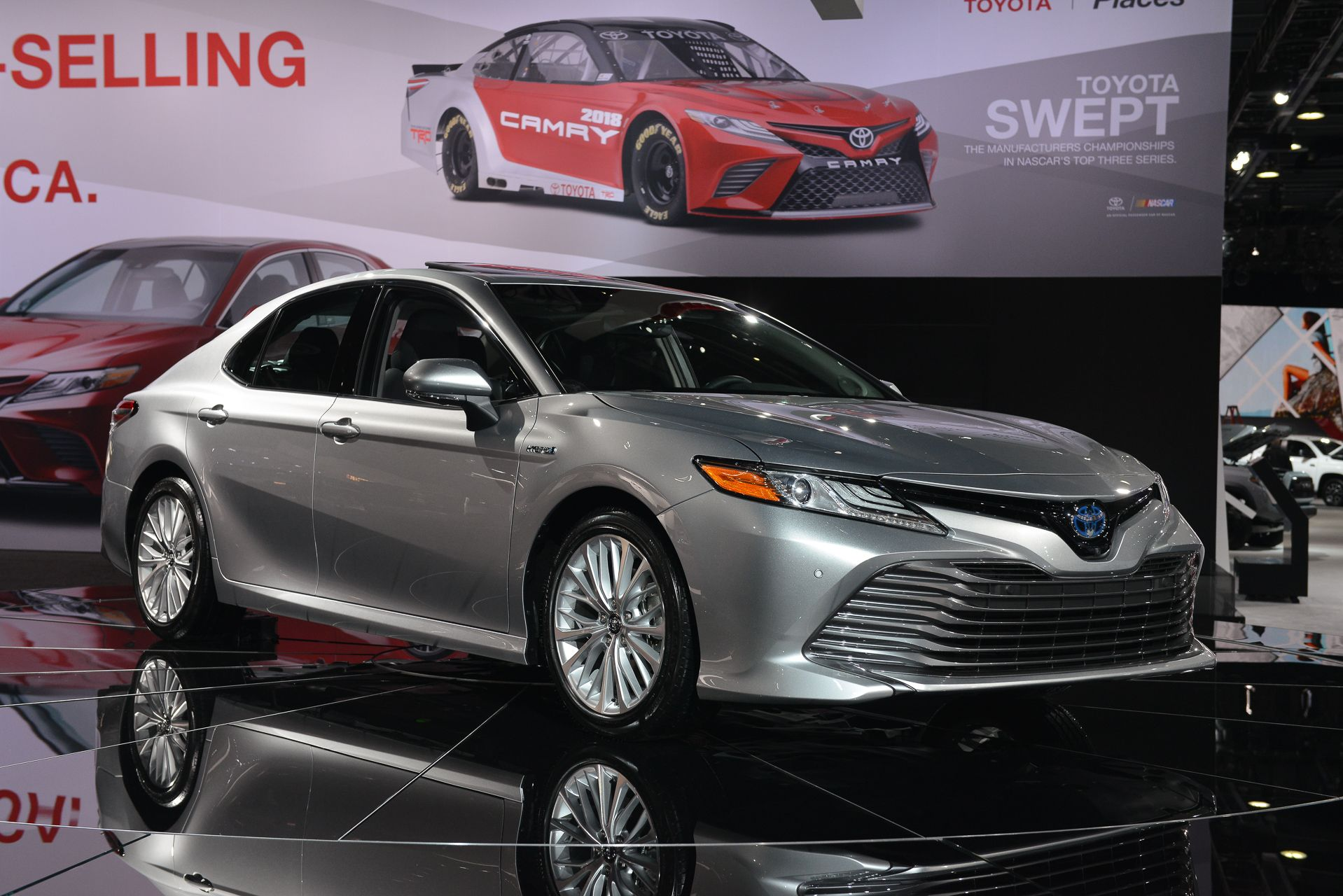 2018 Toyota Camry Example Of What The Le Xle Models Will Look