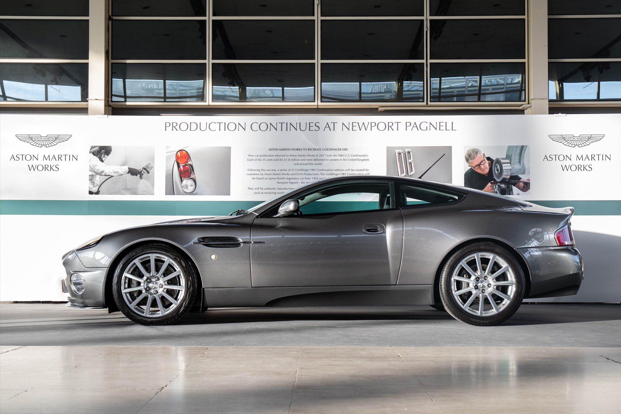 Aston Martin Works On Twitter Aston Martin Aston Newport Pagnell