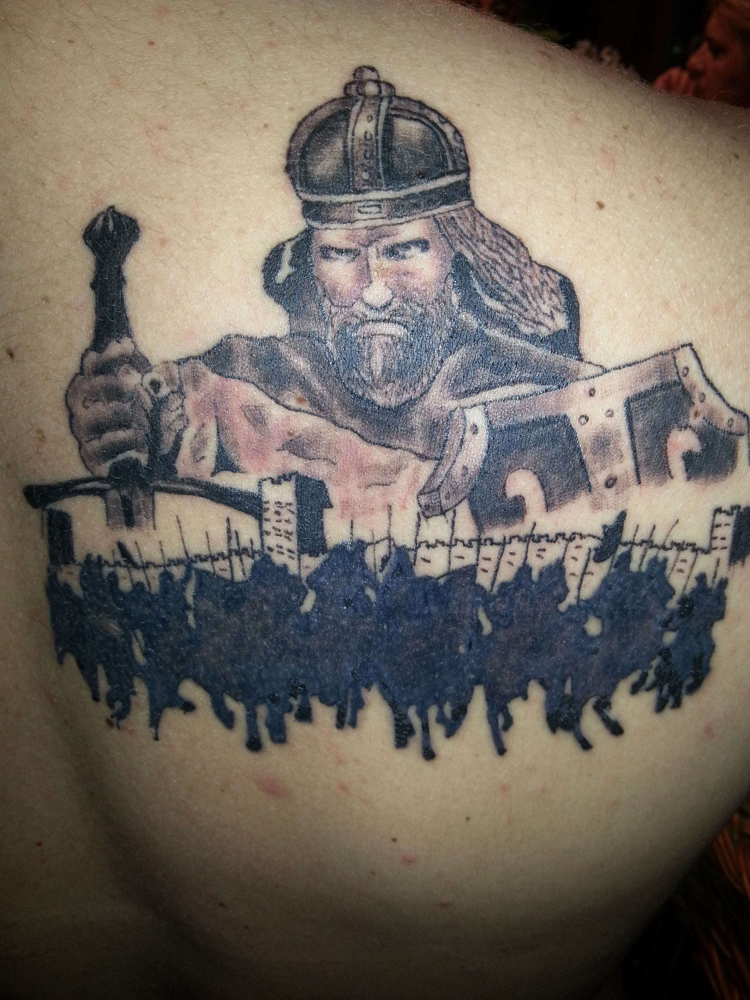 Car Dusan Silni Tattoo Tetovaza Black Grey Tattoos Grey