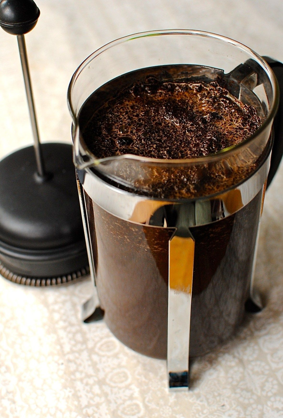 Making Cold Brew Coffee Concentrate In A French Press Cafetiere Food To Glow Making Cold Brew Coffee Cold Brew Coffee Recipe Coffee Concentrate