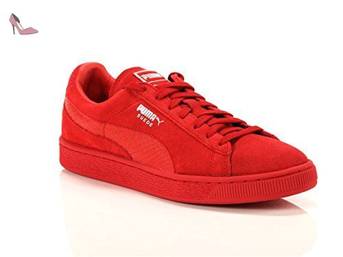 chaussure puma homme rouge