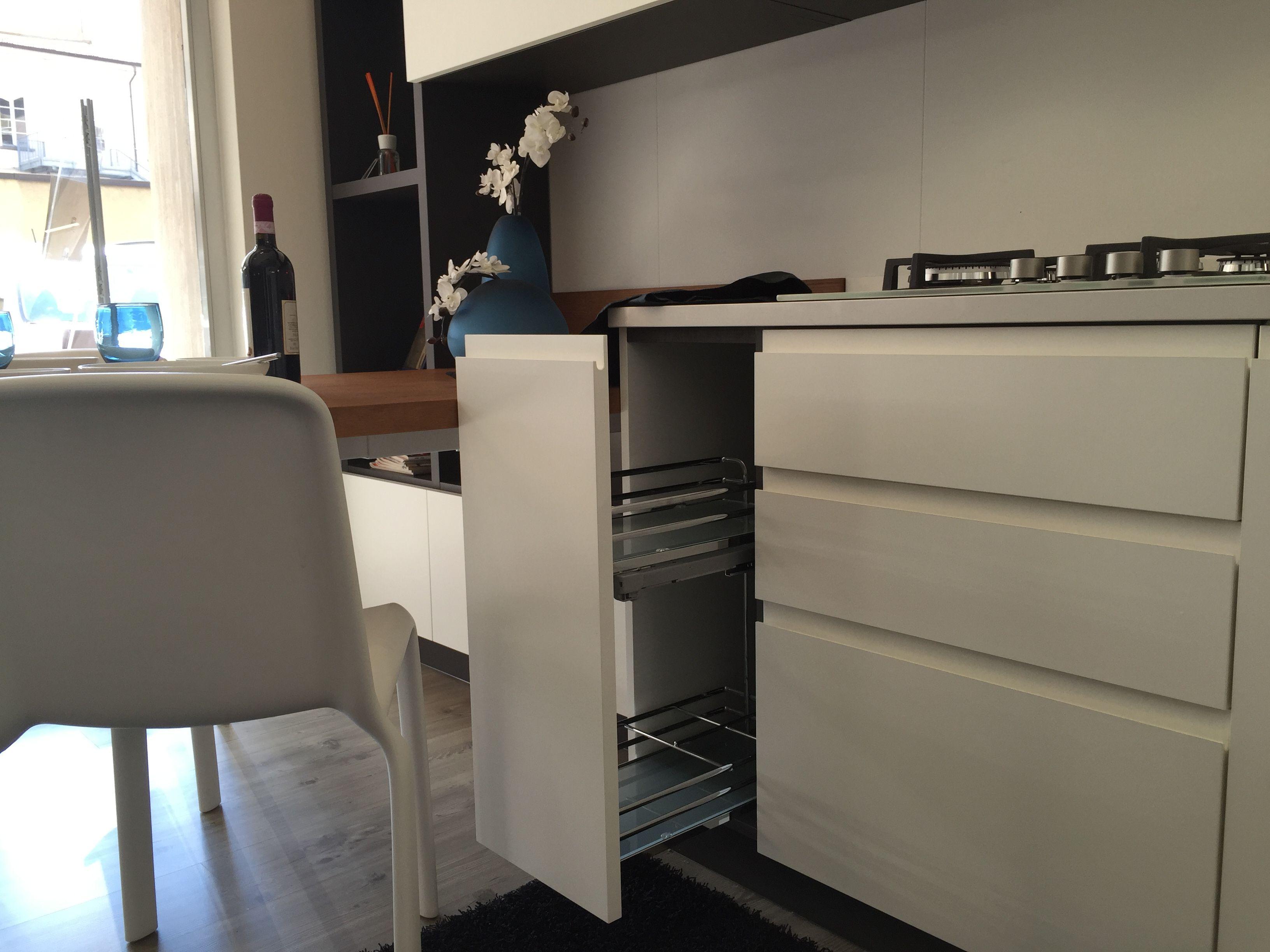 cucina #scavolini modello #motus: anta decorativo bianco puro, Hause ideen