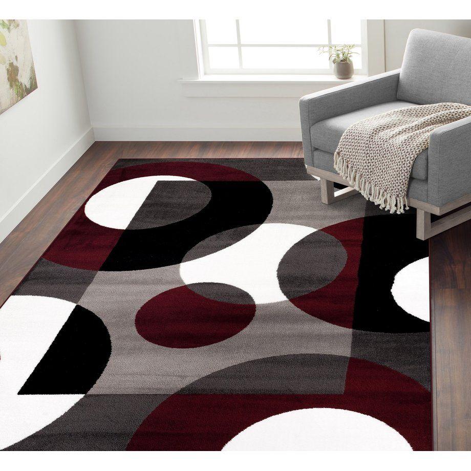 Highlights Burgundy Living Room World Rug Gallery Decor