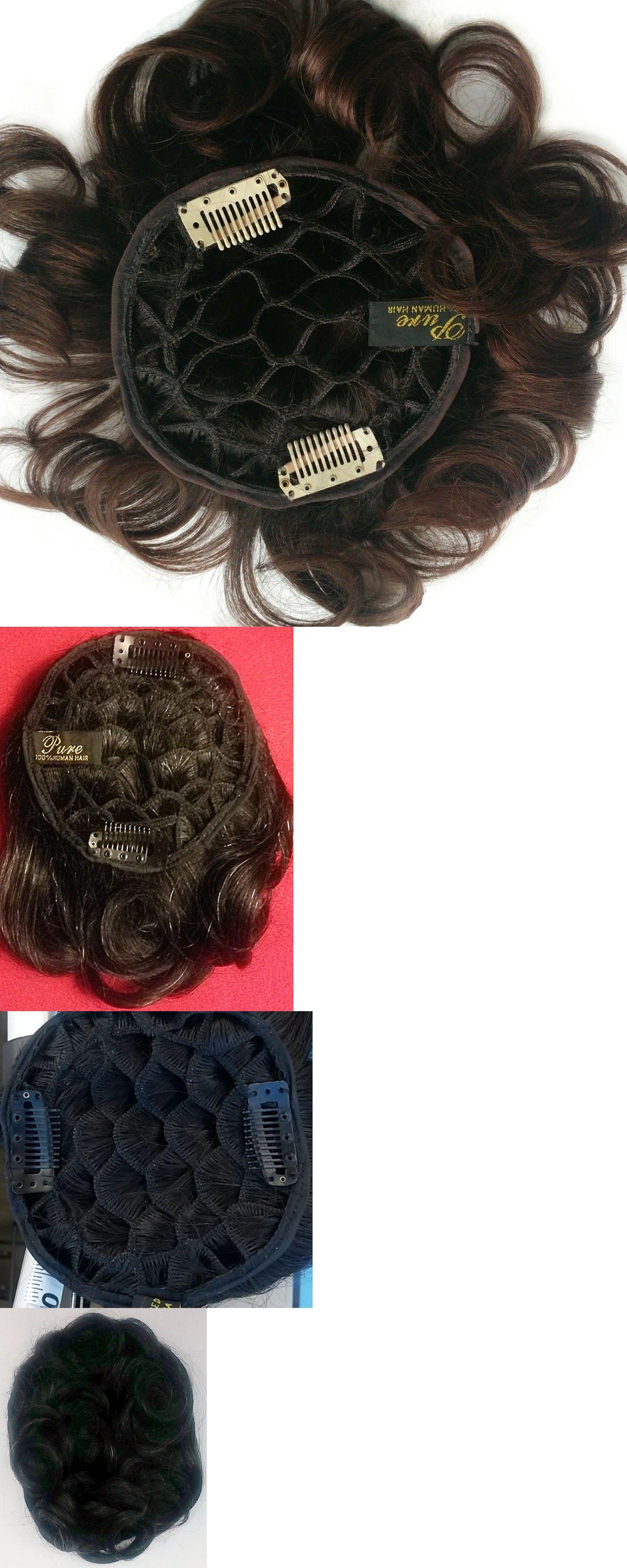 6 Long 100 Human Hair Wire Base Wiglet Mini Spot Filler Honeycomb