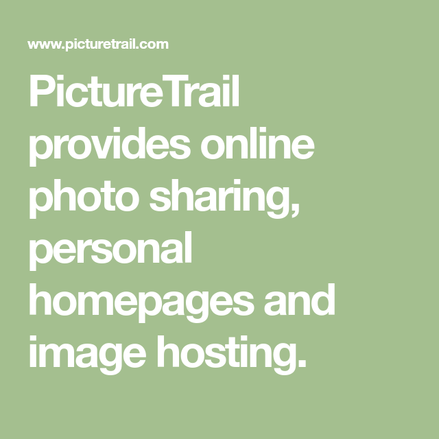 personal homepages