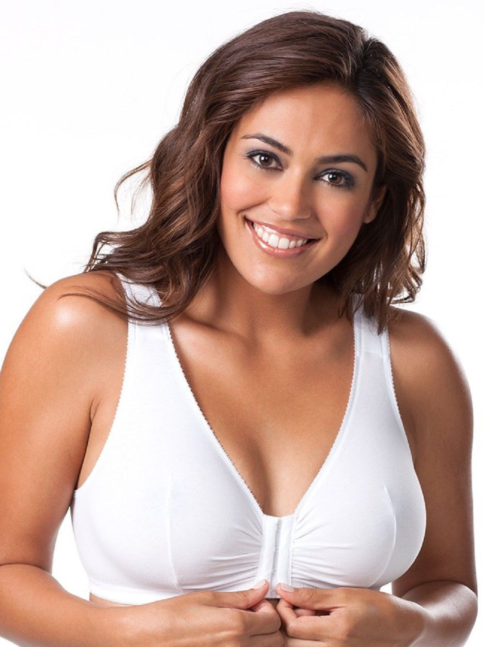 9607bd65e0 Bras and Bra Sets 63853  Leading Lady Cotton Front-Closure Leisure Bra -  110 -  BUY IT NOW ONLY   24 on  eBay  leading  cotton  leisure
