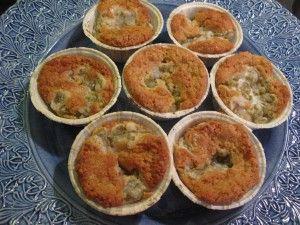 Rabarbermuffins med havre | Katinkas Kitchen
