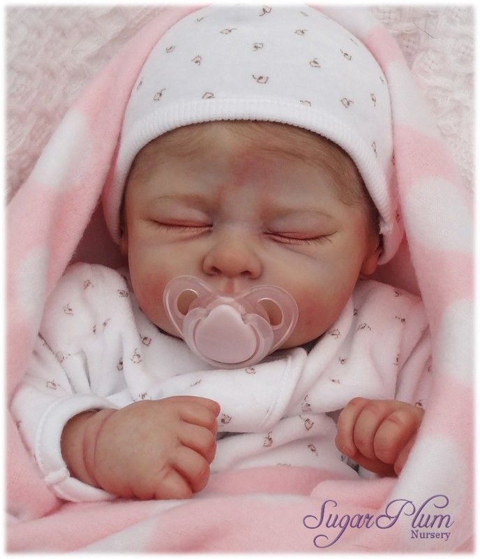 Reborn Dolls Sugar Plum Nursery Baby Doll Andi Linda Murray The Cradle