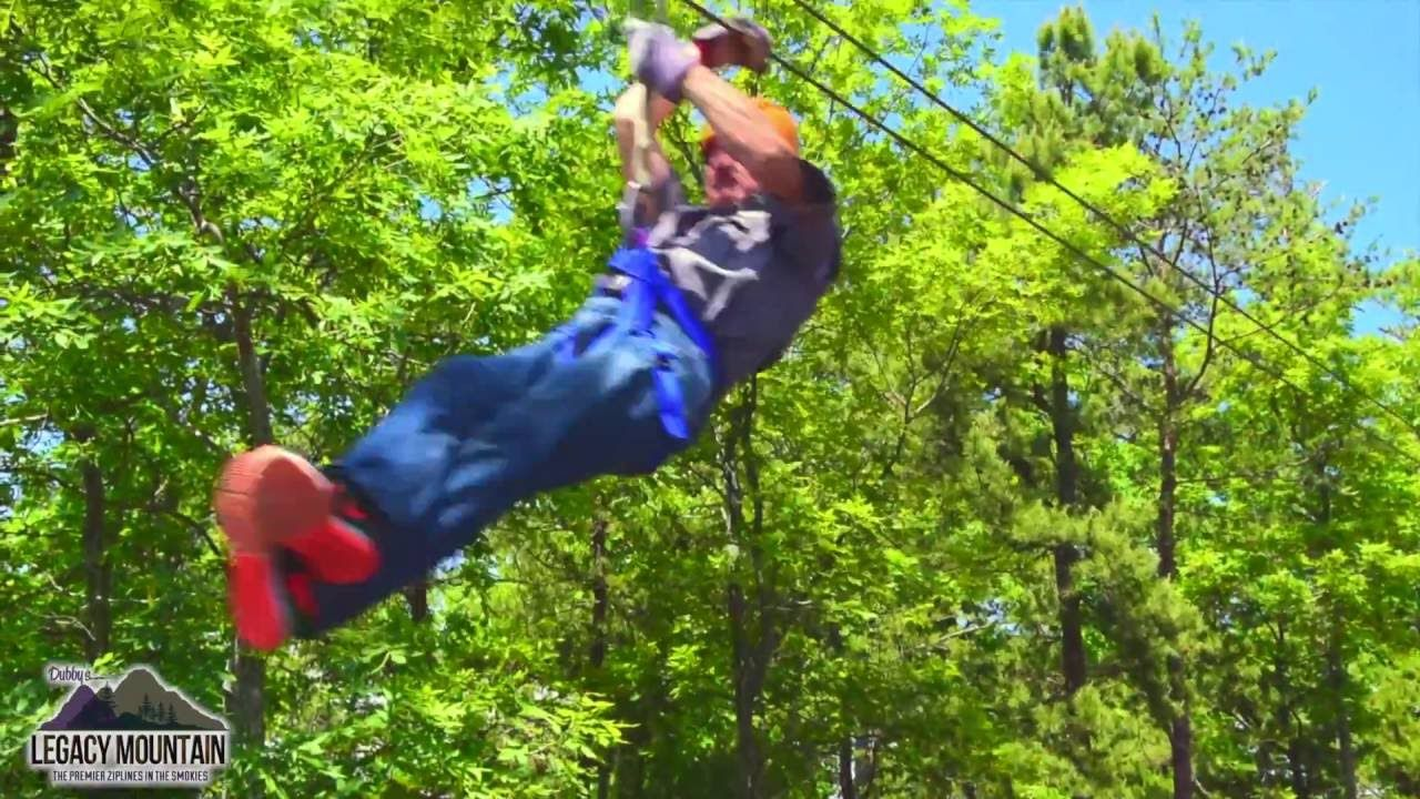 Yeah, Baby!!! Can't wait! Legacy Mountain Ziplines Sevierville Tn Summer 2016 Promo Video - YouTube