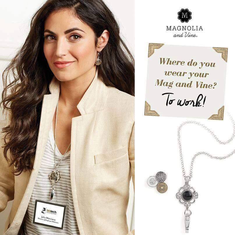 A lanyard for work? Yes PLEASE! http://www.mymagnoliaandvine.com/readysetsnapstyle