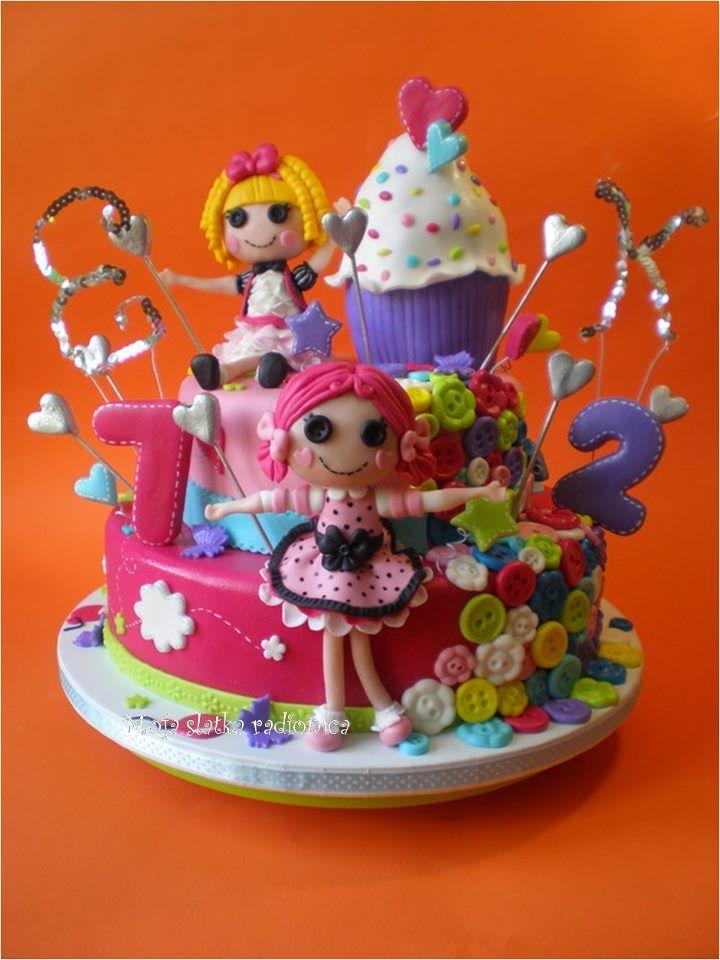 Lalaloopsy Cake Karakter Taartjes Pinterest Lalaloopsy Cake