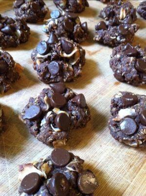 Chocolate Coconut Quinoa Gluten Free Cookies