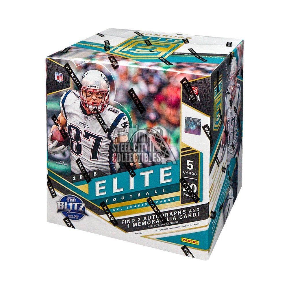 2018 panini donruss elite football hobby box football