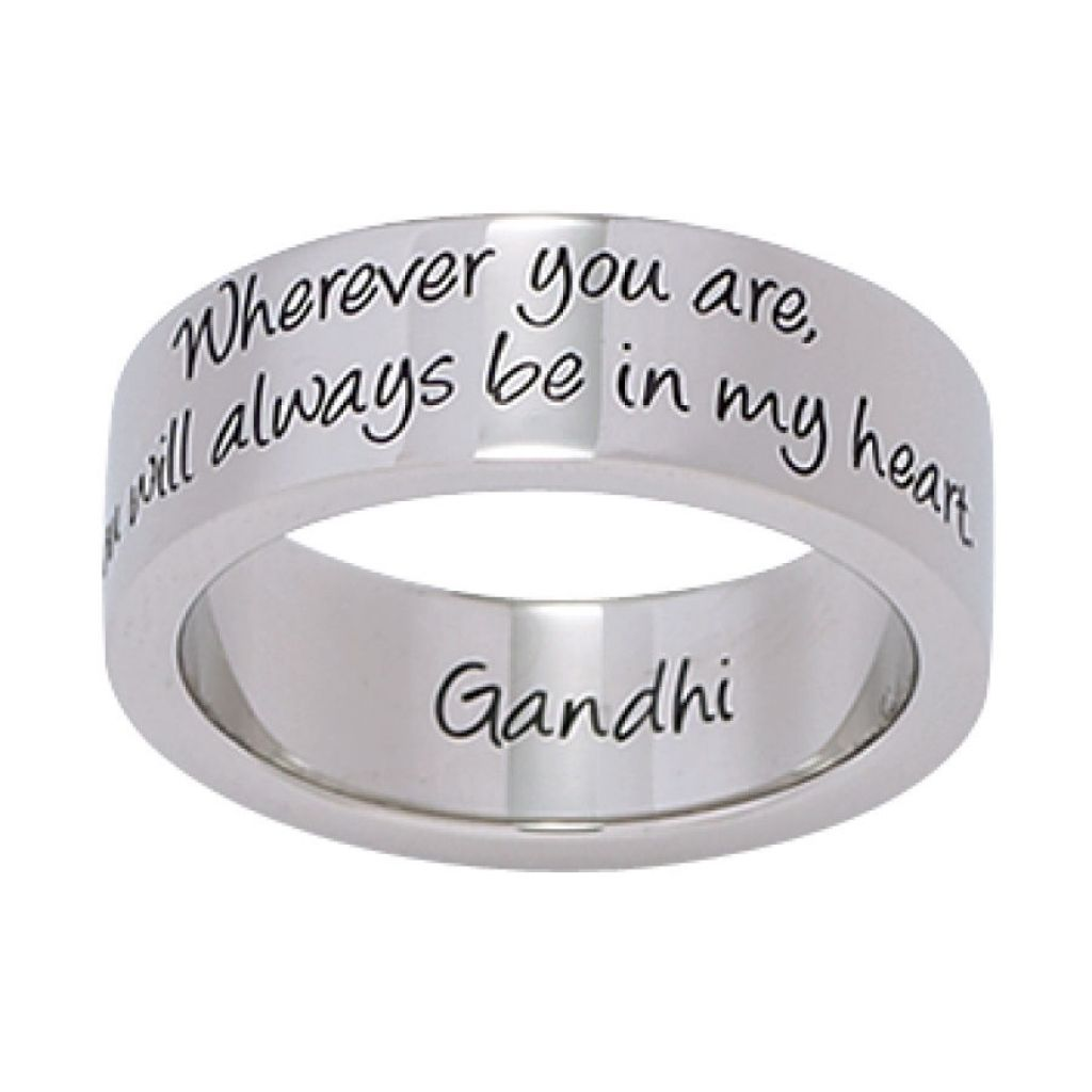 quotes engraved wedding band quotesgram inside the awesome and beautiful wedding - Wedding Ring Engraving Ideas