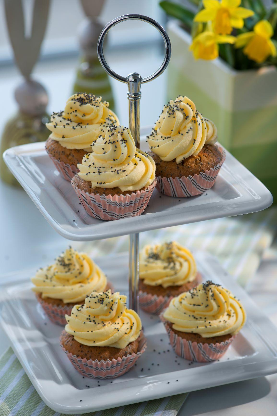 Muffins mit Eierlikör
