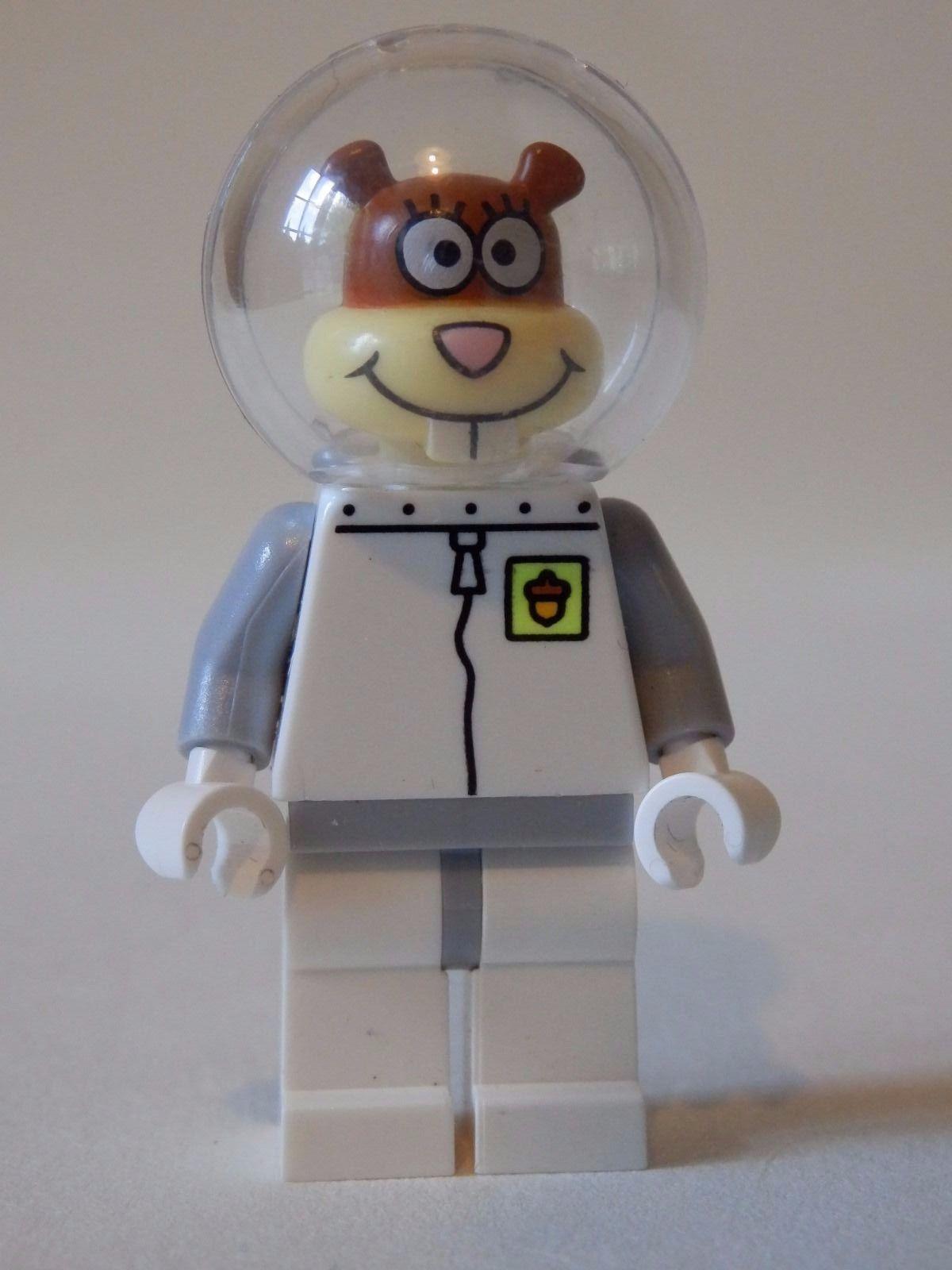 lego spongebob squarepants hamster minifigure space costume