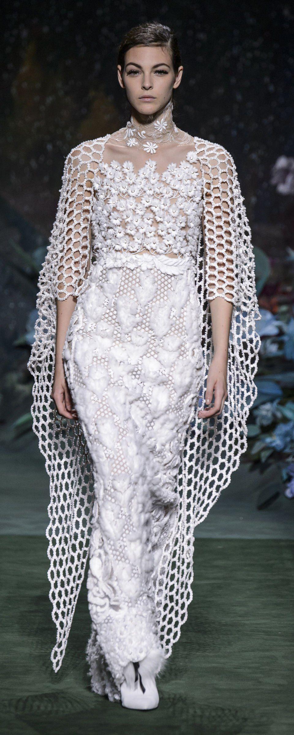 Fendi fallwinter couture beautiful gowns black white