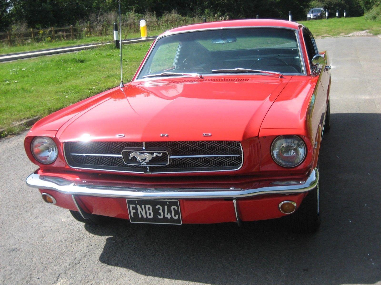 Ebay 1965 ford mustang fastback 2 2 usa car