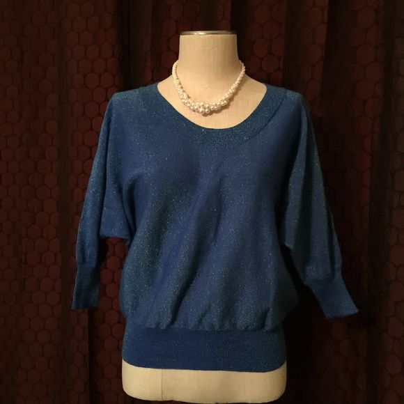 Shimmer Sweater | Wings, Blue sweaters and Silver